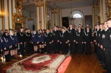 Торжественный молебен для преподавателей и курсантов Санкт-Петербургского морского рыбопромышленного колледжа