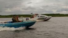 Сотрудники рыбоохраны по республике Коми приняли участие в акции «Речная лента - 2017»