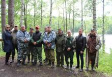 Экологическая акция на озере Любимовское закончилась задержанием браконьера