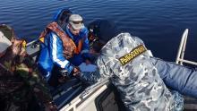 Сотрудники рыбоохраны пресекли браконьерский вылов на Онежском озере