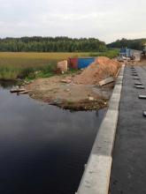 В Вологодской области рыбоохрана выявила факт незаконного строительства мостов через реки Мегру и Илексу