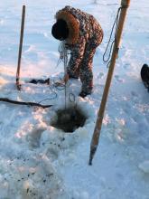 Более километра сетей изъяли инспекторы рыбоохраны в Ненецком автономном округе