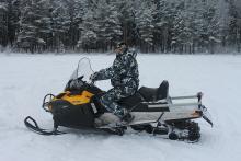 В Вологодский области прошел «Снегоход»