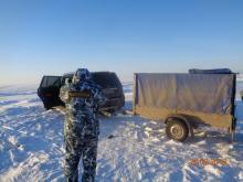 В Гдовском районе Псковской области прошли совместные мероприятия сотрудников рыбоохраны и правоохранительных органов