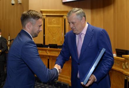 Руководитель Северо-Западного теруправления Росрыболовства получил благодарность губернатора Ленинградской области