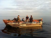 За неделю рыбаков оштрафовали более чем на полмиллиона
