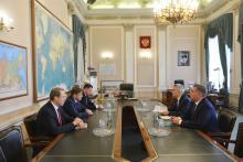Илья Шестаков провел рабочую встречу с главой Карелии Артуром Парфенчиковым