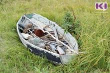 Инспекторы сняли на реке Большая Инта незаконно установленные сети