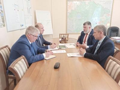 Руководитель Северо-Западного территориального управления Росрыболовства посетил с рабочей поездкой Новгородскую область