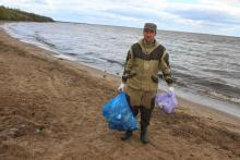 В Вологодской области продолжается акция «За чистый берег»