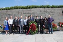 Делегация Северо-Западного теруправления Росрыболовства приняла участие в традиционной церемонии возложения цветов, посвященной началу Великой Отечественной войны