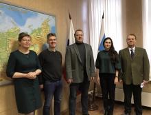 В Санкт-Петербурге состоялась  рабочая встреча России и Финляндии в области рыбного хозяйства