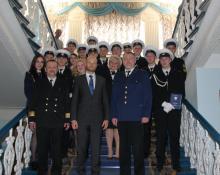 В морском рыбопромышленном колледже Санкт-Петербурга вручили дипломы ихтиологам