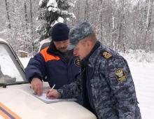 Сотрудники отдела рыбоохраны Псковской области принимают участие в обеспечении безопасности граждан при осуществлении любительского рыболовства