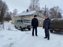 В продолжение рабочей поездки Александр Христенко инспектирует подразделения отдела рыбоохраны по Вологодской области и тестирует новую форменную одежду