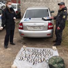 В Псковской области за период с 18 по 25 апреля выявлен ряд правонарушений в области рыболовства