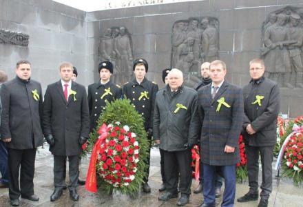 Представители Северо-Западного территориального управления Росрыболовства почтили память погибших в блокаду ленинградцев