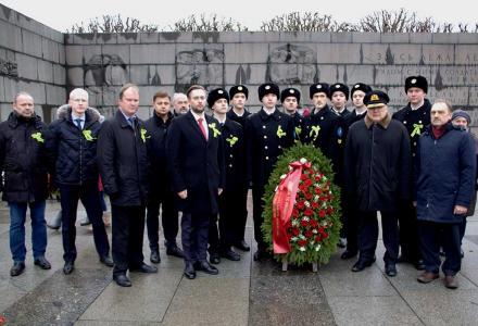Руководитель Северо-Западного теруправления Росрыболовства принял участие в традиционной церемонии, посвященной Дню снятия блокады Ленинграда