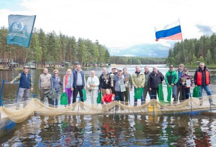 Денис Беляев принял участие в соревнованиях на Коркинском озере