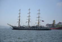«Паллада» ошвартовалась в родном порту